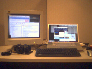 Dual Monitors at Work!
